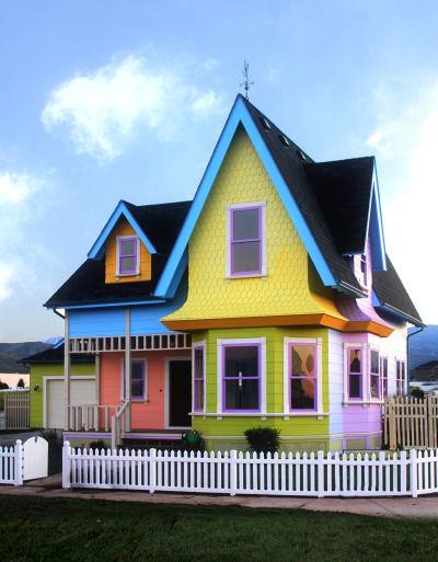 Dove si trova la casa del film disney up costruire la for Costruire casa dei sogni online