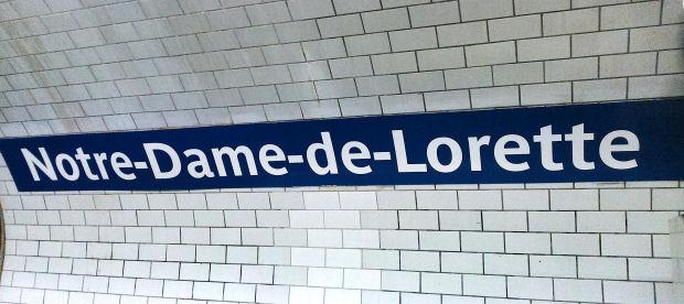 Da montmartre a saint germain des pr s due storie di - Metro notre dame de lorette ...